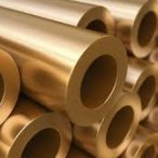 Thick-walled brass tube