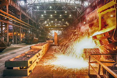 Japan is less export of steel products