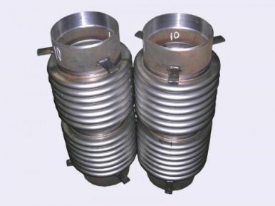 Bellows axial expansion joint