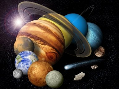 Nickel, iron and magnesium in the composition of some planets of the solar system suggest the possibility of presence of life on them