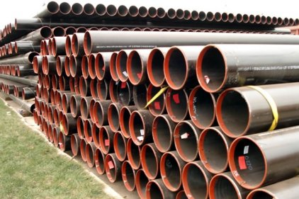 Gas pipe copper