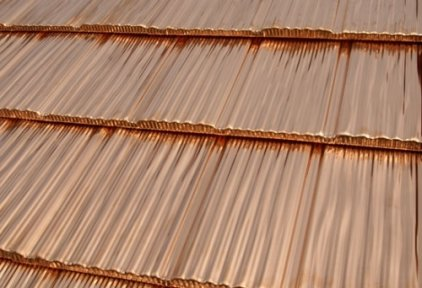 Roofing copper sheet